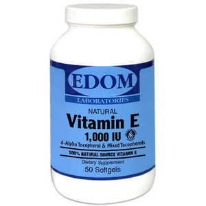 Vitamin E 1,000 IU Softgels 100% Natural
