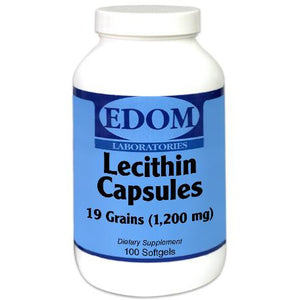 Lecithin 19 Grains (1200 mg) Softgels