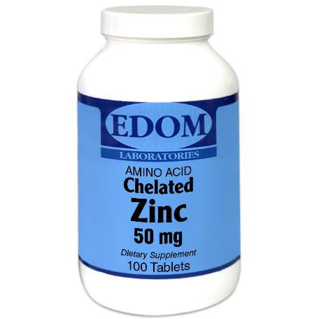 Zinc 50 mg (Amino Acid Chelated) Tablets
