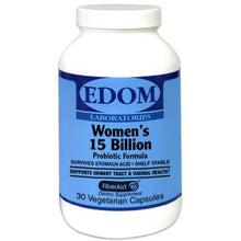 Women's 15 Billion Probiotic Formula This formula features the 5 most dominant species of microorganisms (Lactobacilli) which nourish and support vaginal health and the urinary tract, as well as 3 strains of Bifidobacterium.