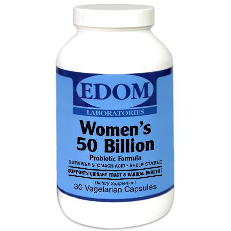 Women's 50 Billion Probiotic Formula Vegetarian Capsules