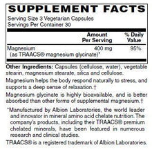 Magnesium Glycinate 400 mg Formula