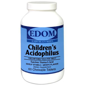 Children's Acidophilus is a high-potency, multiple species probiotic supplement. It provides three of the best probiotic strains for children in amounts that will support and nurture a healthy digestive system.