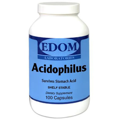 Acidophilus Capsules Contains 500 million viable cells per capsule.