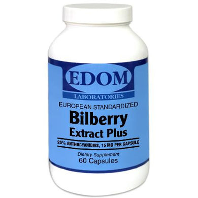 Bilberry Extract Plus 60 mg European Standardized
