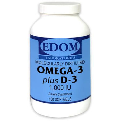 OMEGA-3 Plus D-3 1,000 IU Softgels