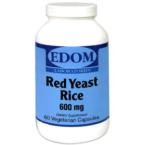 Red Yeast Rice 600 mg Organic Vegetarian Capsules