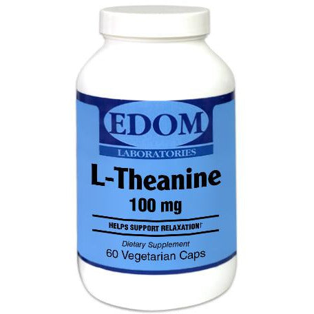L-Theanine 100 mg Vegetarian Capsules