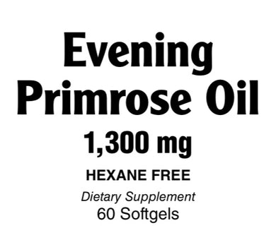 Evening Primose Oil 1300 mg Softgels