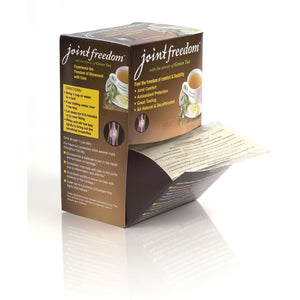 Joint Freedom Tea™ Counter Display Box with 24 samples