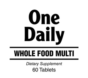 One Daily Whole Food Multi