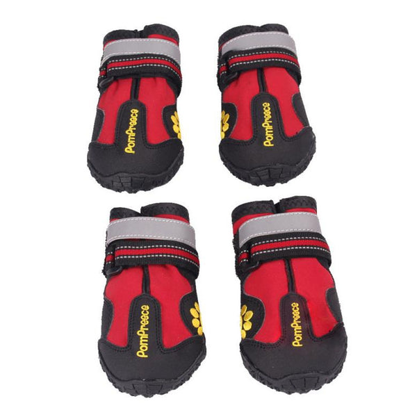 Waterproof Pet Boots for Medium to Large Dogs Labrador Husky Shoes Happy New Year Gifts For Gifts