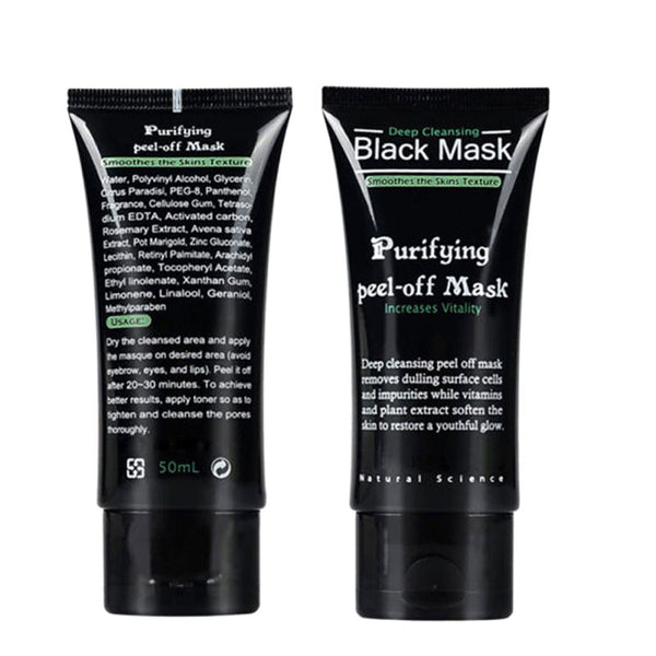 Blackhead Remove Facial Peel Off Masks Deep Cleansing Purifying Black Nud Facail Face black Mask