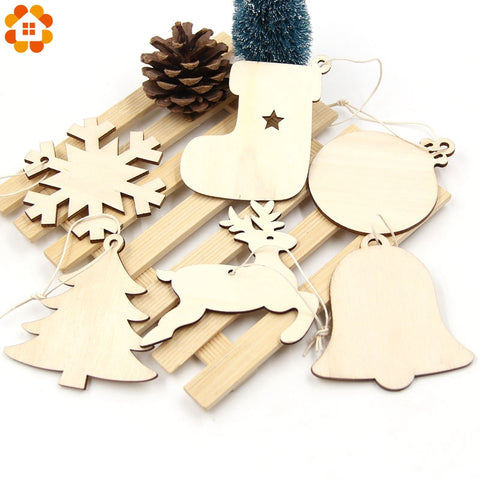 essential indoor christmas decorations item snowflakesockstreebell wooden hanging - Essential Christmas Decorations