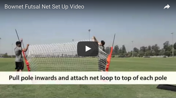 Bownet 2m x 3m Futsal Set Up Video