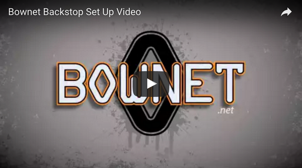 Bownet Portable Backstop Set Up Video