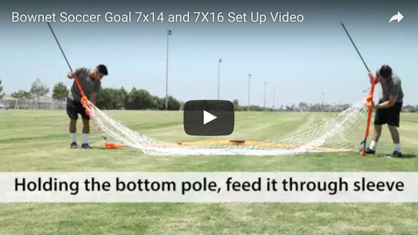 Bownet 7' x 14' and 7' x 16' Soccer Goals Set Up Video