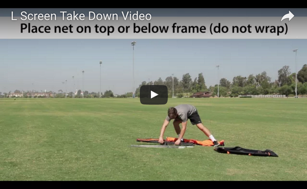 Bownet L-Screen Take Down Video