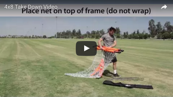Bownet 4' x 6' & 4' x 8' Soccer Goal Take Down Video