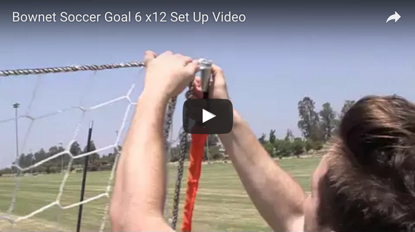 Bownet 6' x 12' Soccer Goal Set Up Video