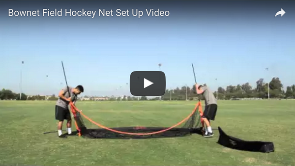 Bownet Field Hockey Goal Set Up Video