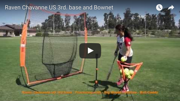Raven Chavanne US 3rd. Base and Bownet Commercial Video