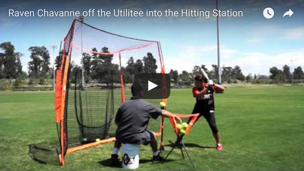 Raven Chavanne off the Utilitee into the Hitting Station Commercial Video