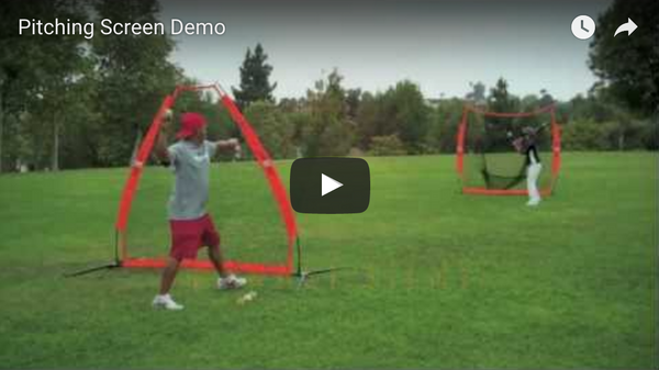 Bownet Pitching Screen Demo Video