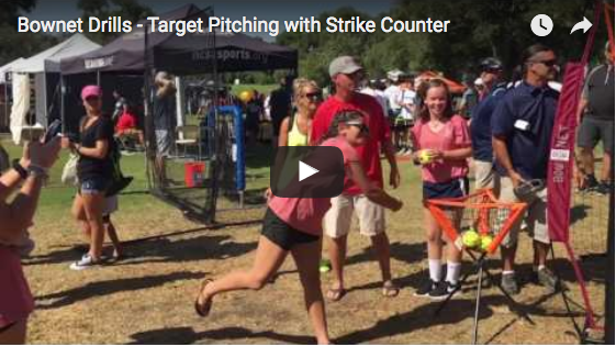Bownet Drills - Target Pitching with Strike Counter