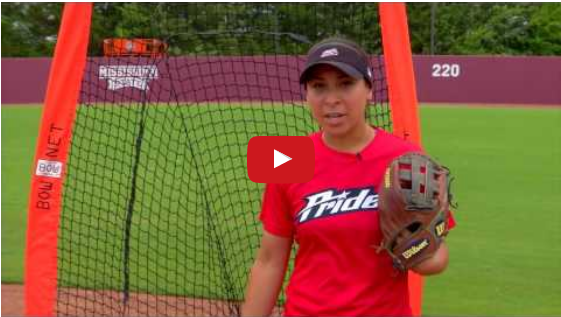 Bownet Drills - USSSA Pride's Sierra Romero Practices with the Infielder