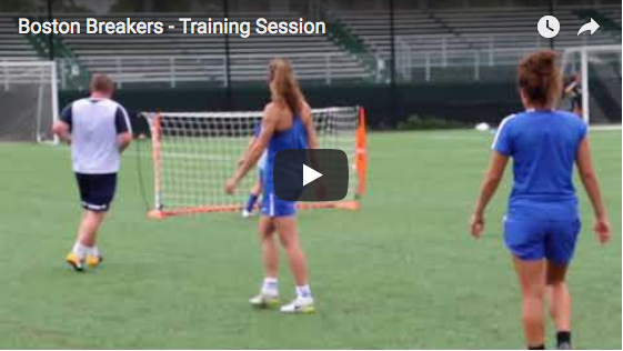 Boston Breakers - Training Session