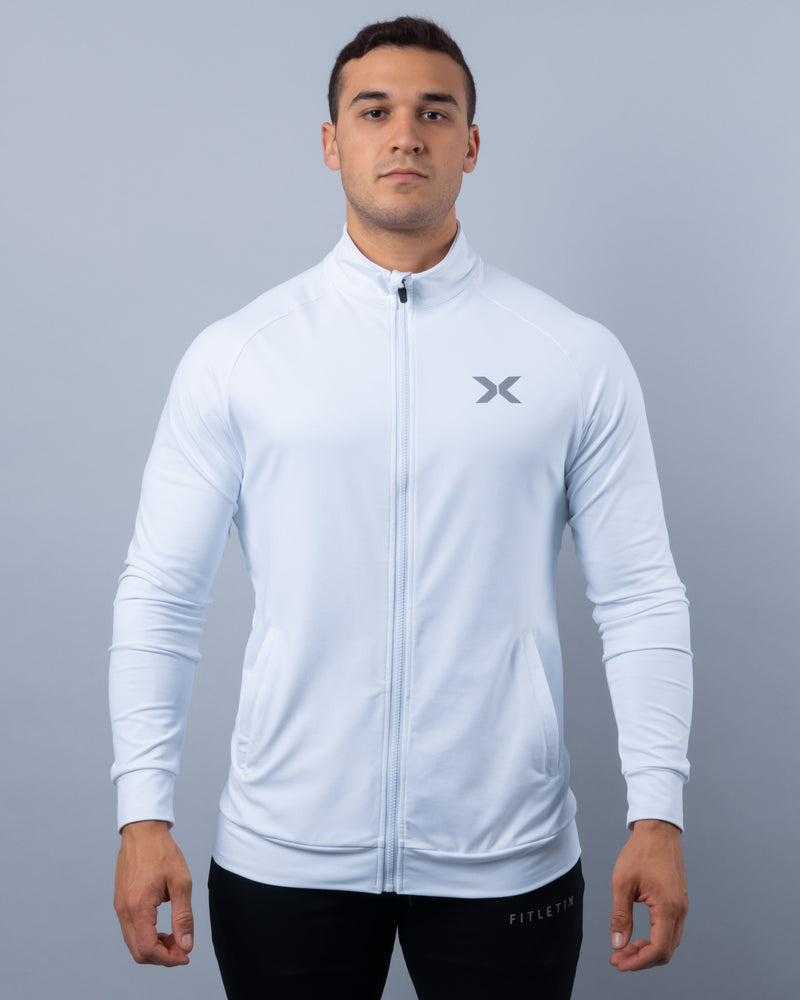 LUXE Track Jacket - White