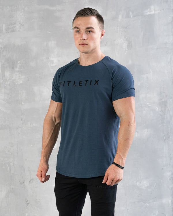 Strong Performance Tee - Deep Navy