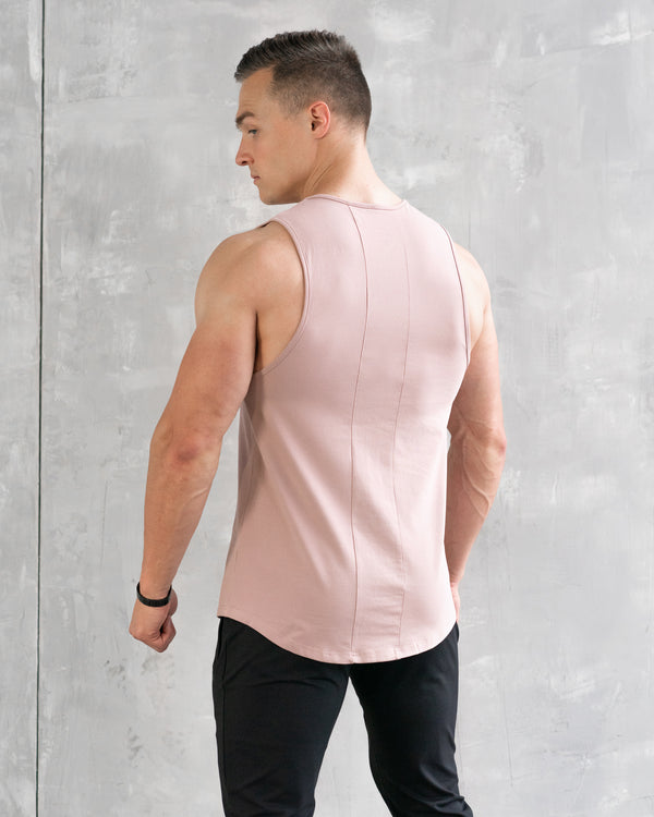 Essential Muscle Tee - Salmon