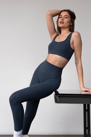HIGH WAISTED LEGGINGS - ONYX