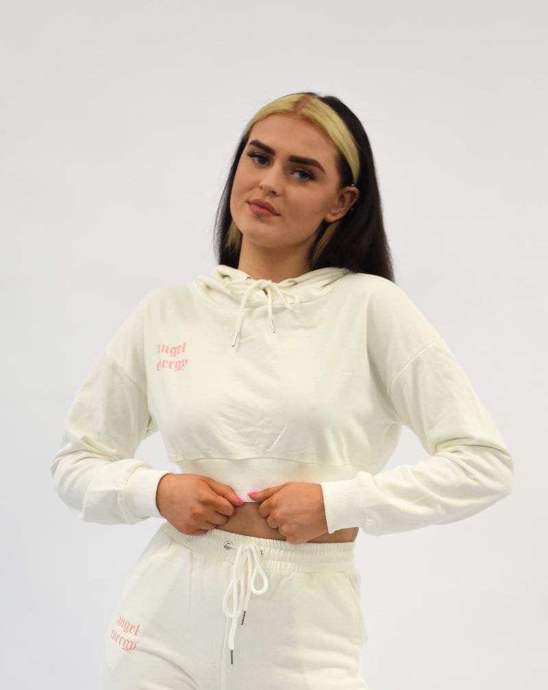 Off White Angel Energy Oversized Hoodie