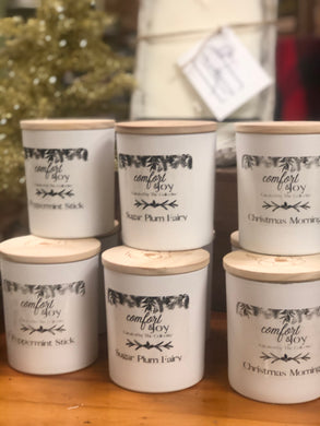 Comfort & Joy Holiday Collection Candles