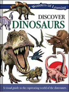 Discover Dinosaurs, Wonders of Learning Reference Book