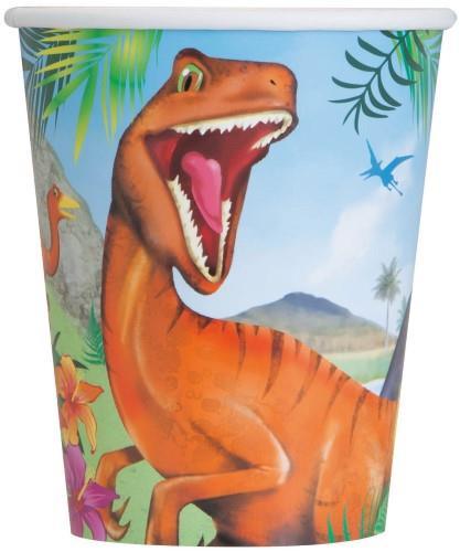 Dinosaur Paper Cups (Pack of 8)