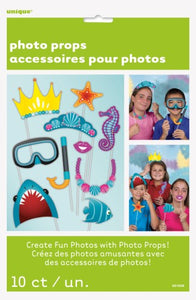 Under the sea photo props (10 per pack)
