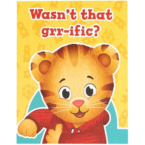 Daniel Tiger's Neighborhood Thankyou notes (Pack of 8)