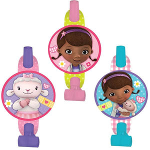 Doc McStuffins Blowouts (Pack of 8)