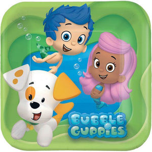 Bubble Guppies Lunch Plates (Pack of 8)
