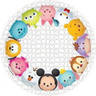 Tsum Tsum Lunch Plates (Pack of 8)