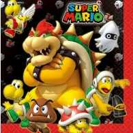 Super Mario Brothers Luncheon Napkins (Pack of 16)