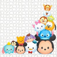 Tsum Tsum Lunch Napkins (Pack of 16)