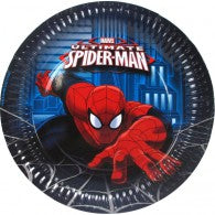 Spider-man Lunch Plates (Pack of 8)