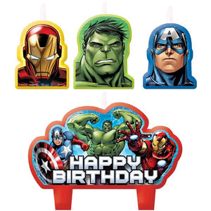 Avengers Candles (Set of 4)