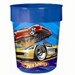 Party Cup Hot Wheels Plastic 473ml