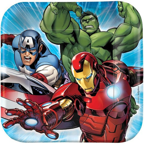 Avengers Lunch Plates (Pack of 8)